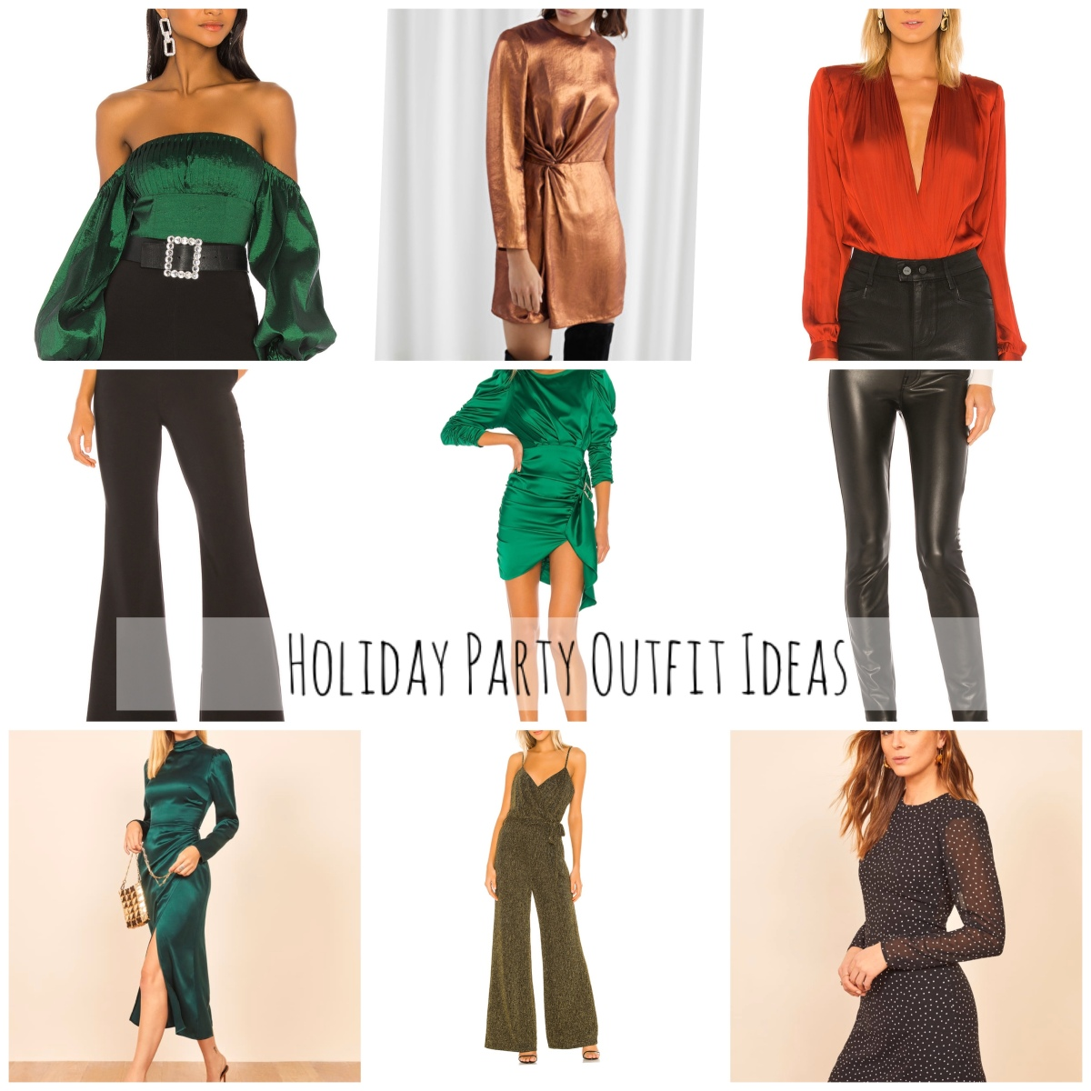 What to Wear to: Holiday Party